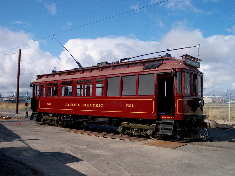 Replica Vintage Trolley Cars by John Smatlak