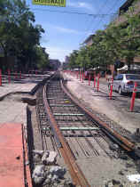 Northbound track on Broadway.jpg (296099 bytes)