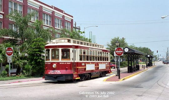 U.S. Streetcar Systems- Texas – Galveston