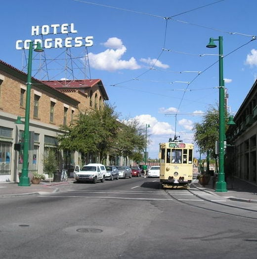 U.S. Streetcar Systems- Arizona Tucson's Old Pueblo Trolley
