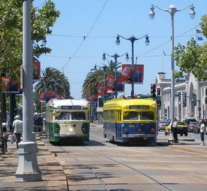 U.S. Streetcar Systems- California – San Francisco