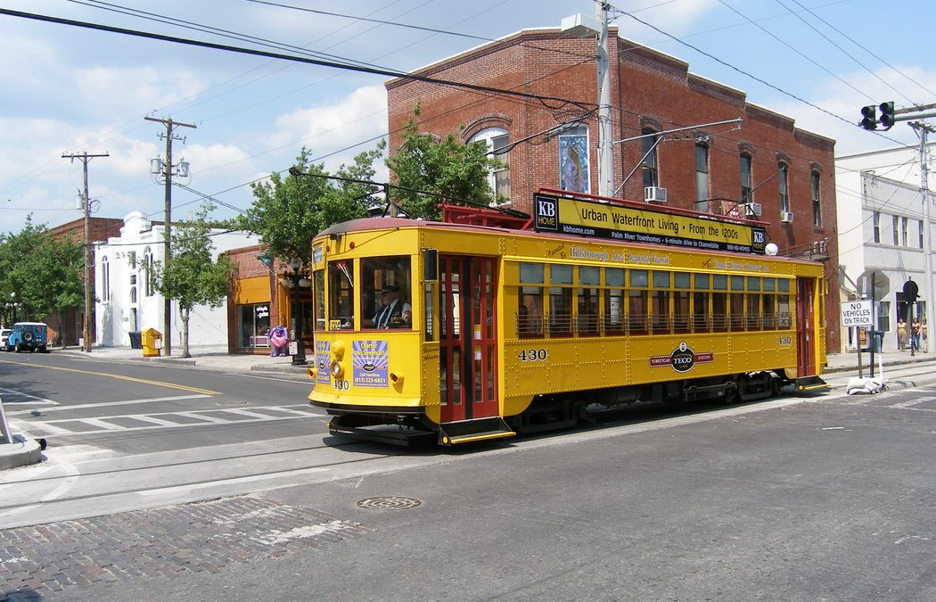 Replica Vintage Trolley Cars